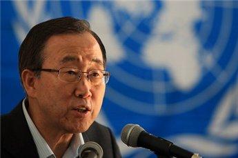 Ban Ki-moon prisonerer release