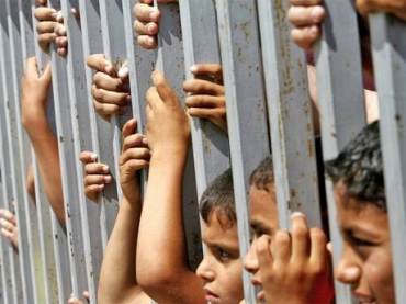 Pal children in israeli prison