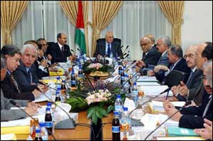 palestinian cabinet